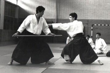1987 - Marina di Massa - with Hideki Hosokawa