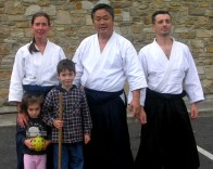 2006 - Donegal, Ireland - with Gaku Homma Kancho