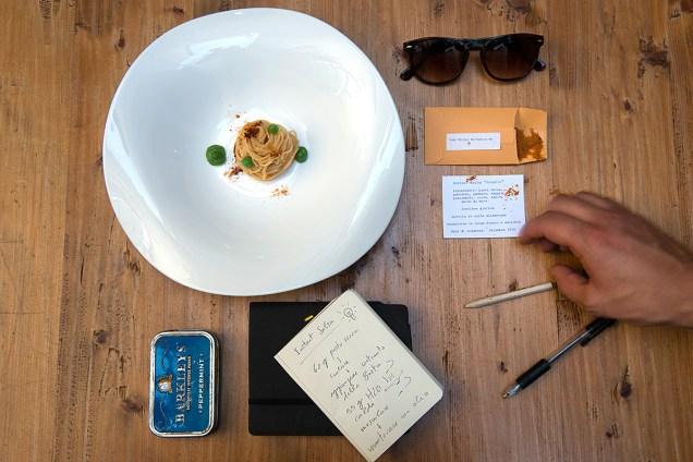 Spaghetto allo scoglio senza scoglio e salsa instant
