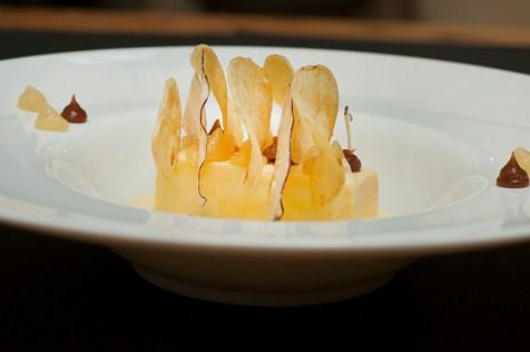 Wendy's: semifreddo vaniglia, patate fritte, mele e rosmarino
