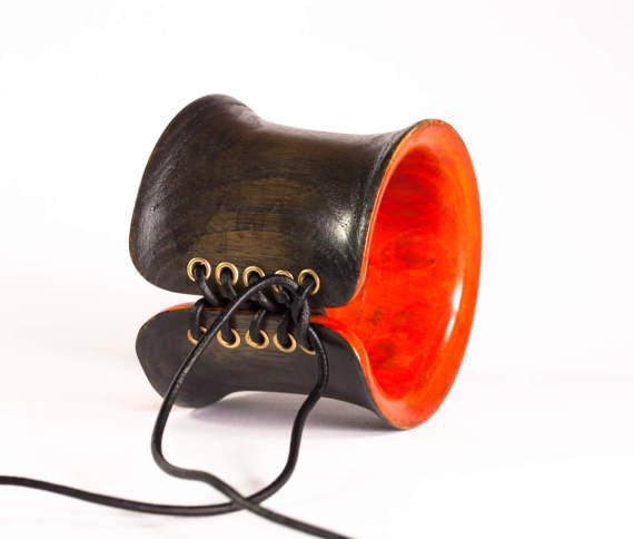 Corset wooden bangle
