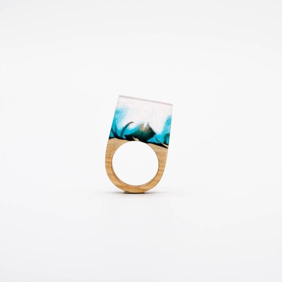 Resin and wood rings