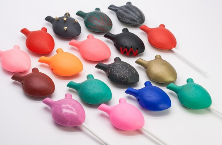 Hearth-handmade resin pendants collection