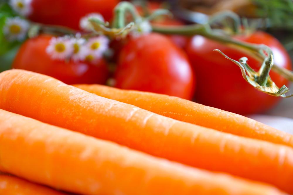 Karotte und Orange zur Gewichtsreduktion