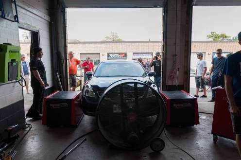 Car Dyno Meet - 2014 - dyno inside