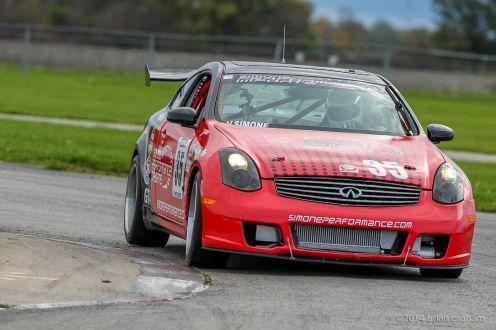 Road Racing at TMP held Oct 5, 2014 at Toronto Motorsports Park, Cayuga, Ontario, Canada