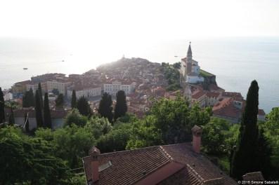 Panorama dalle mura