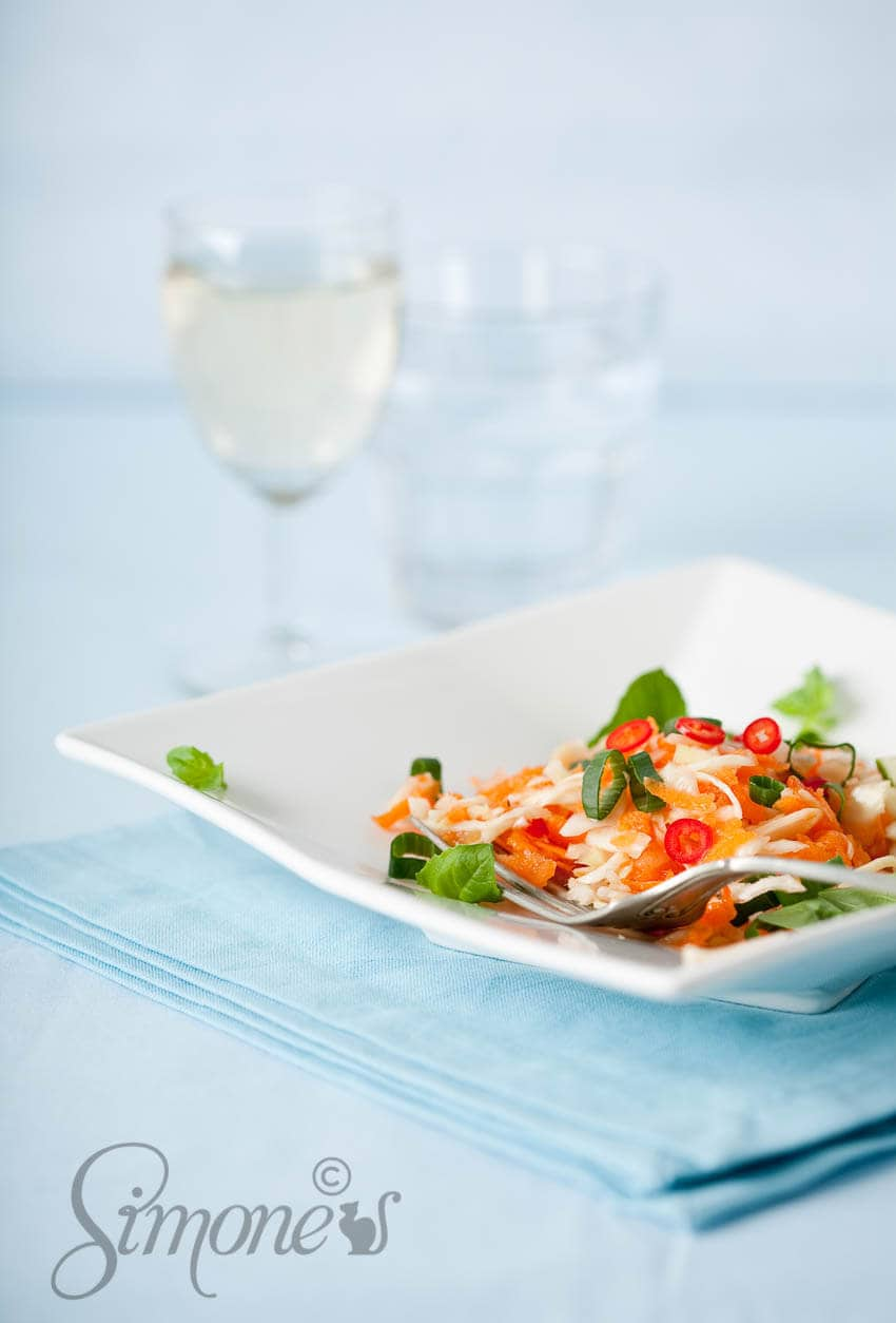 Vietnamese wortelsalade   simoneskitchen.nl