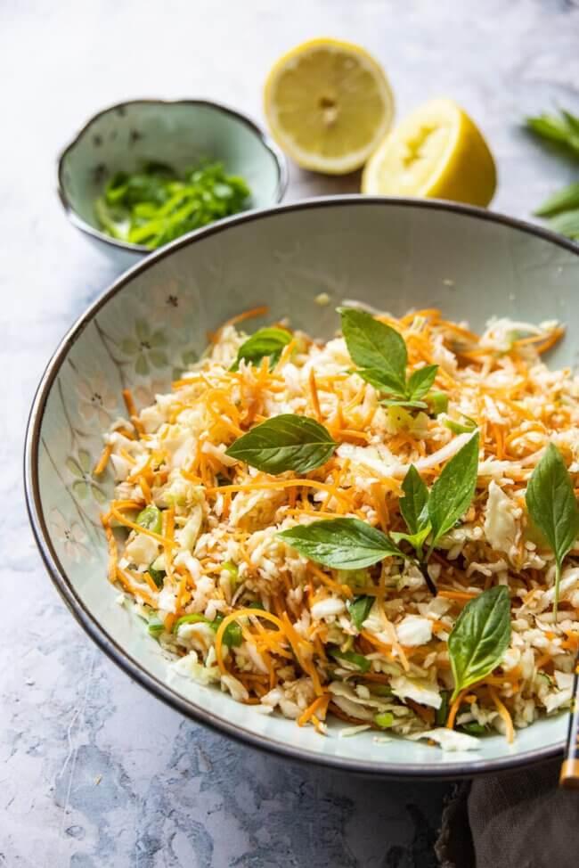 Vietnamese wortelsalade