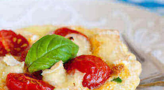 Hartige taartjes met tomaat en gorgonzola   simoneskitchen.nl