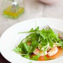 Salade met gerookte zalm en mierikswortel | simoneskitchen.nl