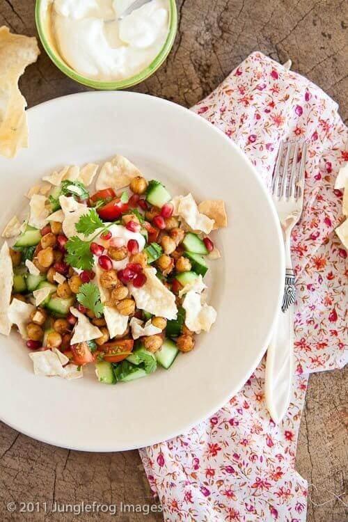 Heerlijke Indische salade