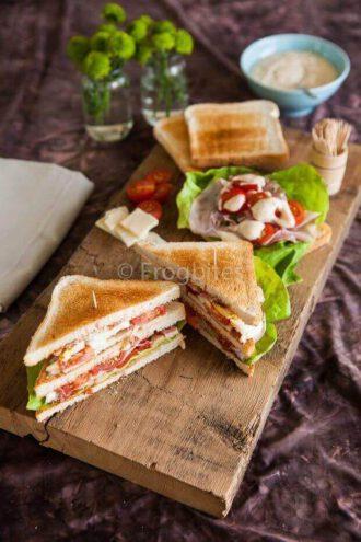 De ultieme club sandwich   simoneskitchen.nl