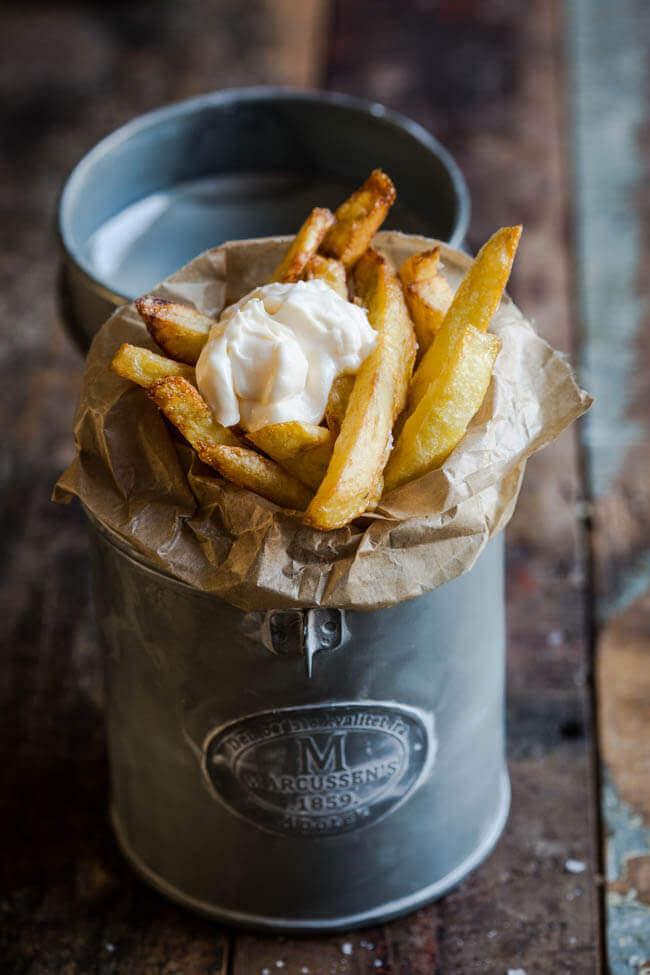 Vers gebakken frietjes | simoneskitchen.nl