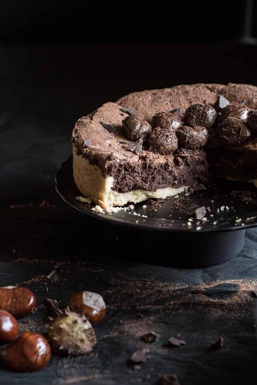 Chocolade kastanje taart | simoneskitchen.nl