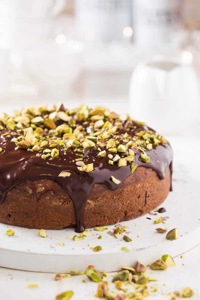 chocola kardemom taart | simoneskitchen.nl