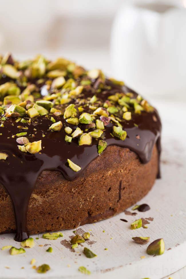 Chocolade kardemom taart | simoneskitchen.nl