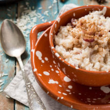 arroz con leche of rijstepap