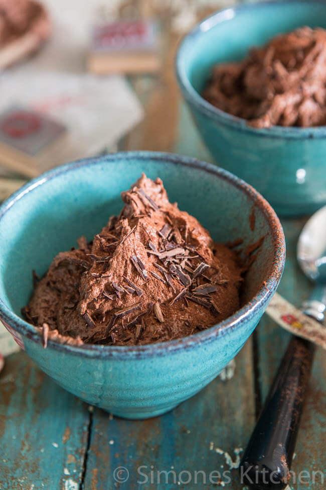 Super snelle chocolade mousse zonder ei   simoneskitchen.nl