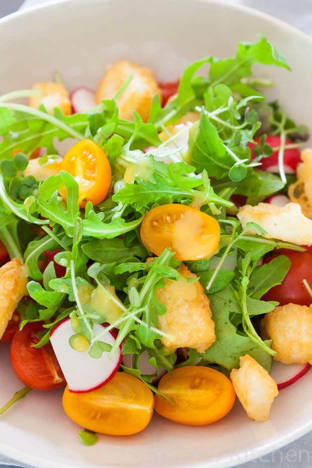 Halloumi salade met tomaat   simoneskitchen.nl