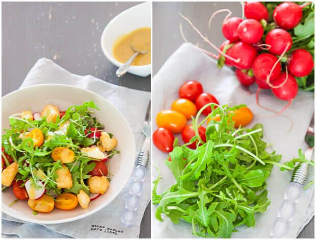 tomatensalade met halloumi   simoneskitchen.nl