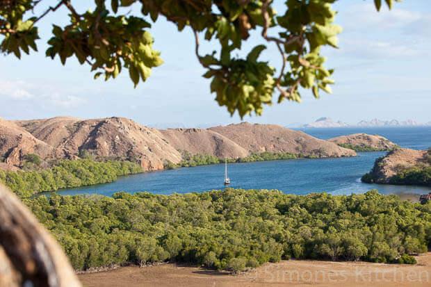 Komodo eiland, onderdeel van de Sunda eilanden