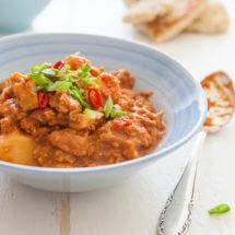 Slowcooker curry met kip en aardappel | simoneskitchen.nl