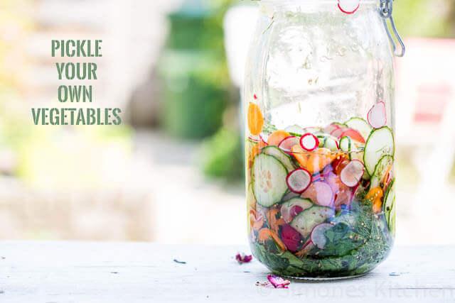 Het zelf inmaken van je groentes | simoneskitchen.nl