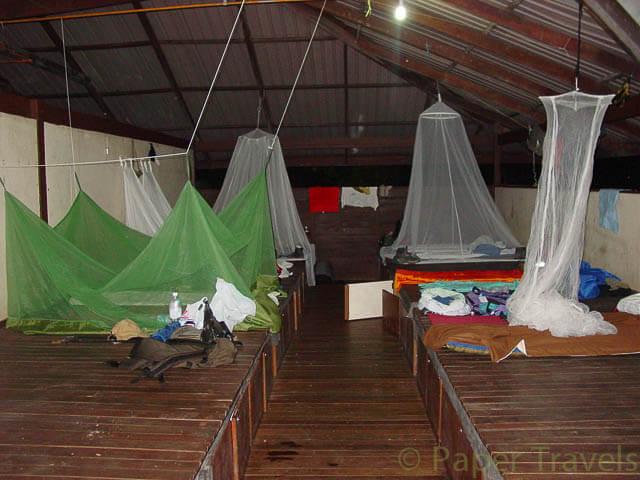 Onze slaapvertrekken in camp 5