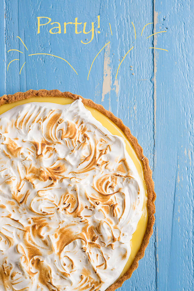 Citroen meringue taart   simoneskitchen.nl