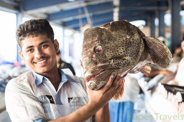 Oude vismarkt Dubai | simoneskitchen.nl