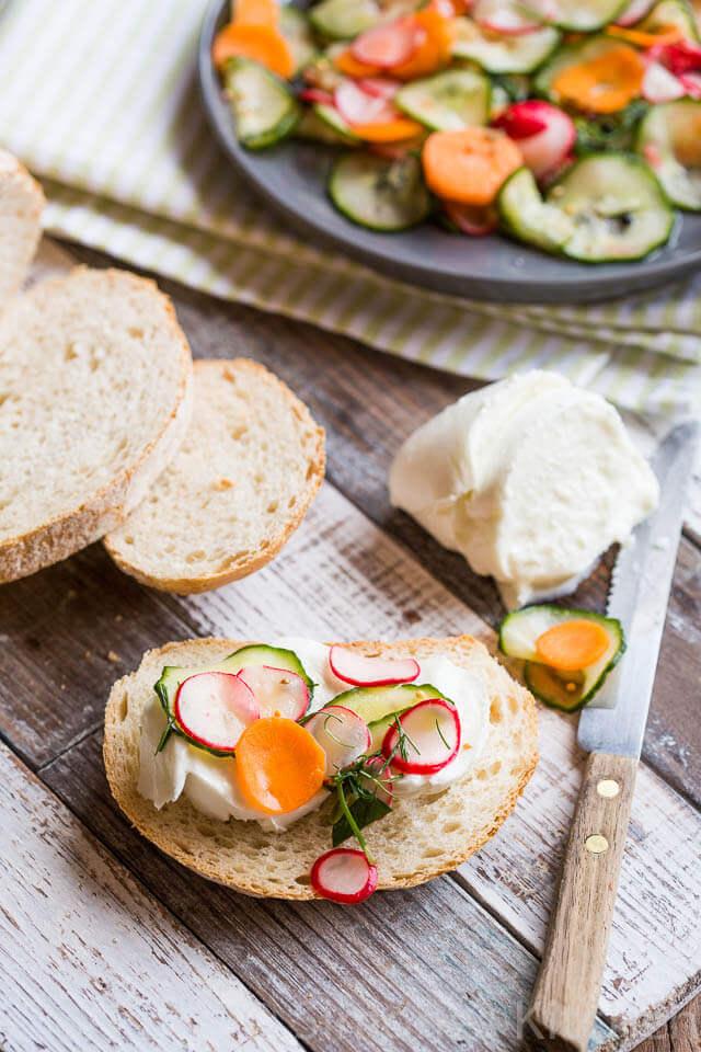 Zelf ingemaakte groentes | simoneskitchen.nl