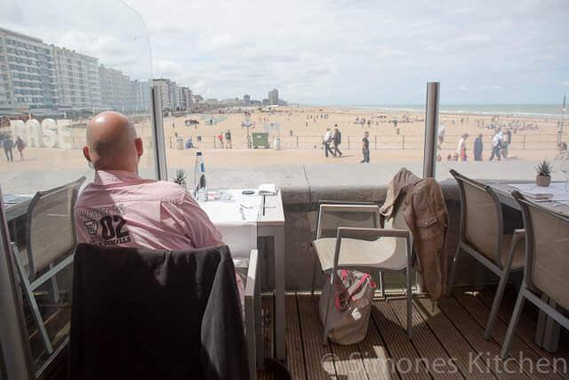 Uitzicht Agua del Mar, Oostende | simoneskitchen.nl