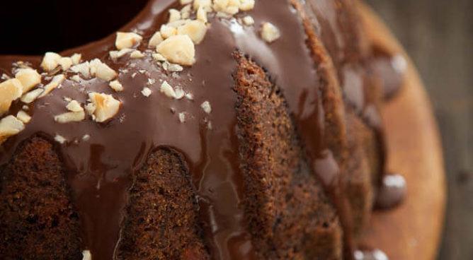 Chocolade cranberry tulband | simoneskitchen.nl