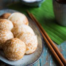 Kokos rijst poffertjes | simoneskitchen.nl