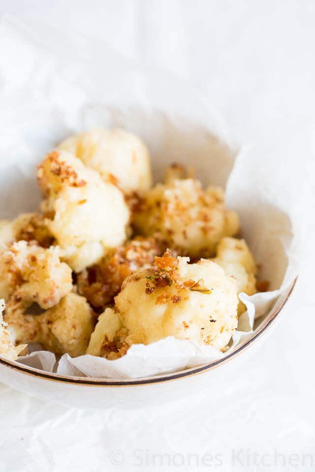 Bloemkool tempura   simoneskitchen.nl