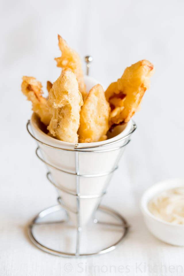 Zoete aardappel tempura | simoneskitchen.nl
