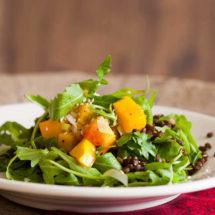 Geroosterde pompoen salade | simoneskitchen.nl
