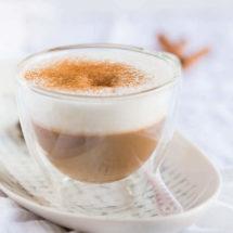 Cappuccino met gember en kaneel | simoneskitchen.nl