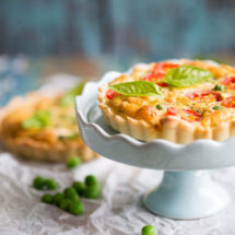 Snel hartig taartje met tomaat | simoneskitchen.nl