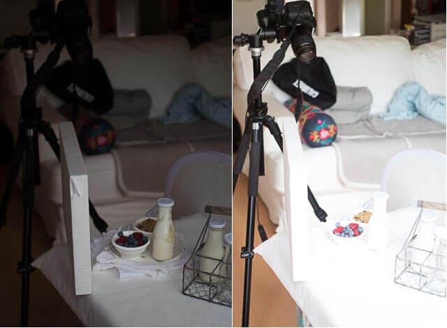 Wit op wit fotograferen | simoneskitchen.nl