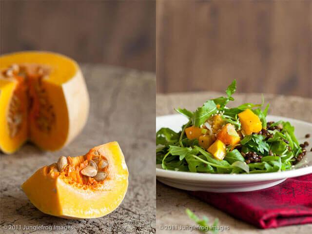 Roasted pumpkin salad | insimoneskitchen.com