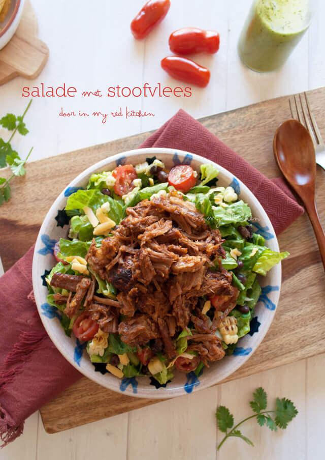 Brisket salade   simoneskitchen.nl