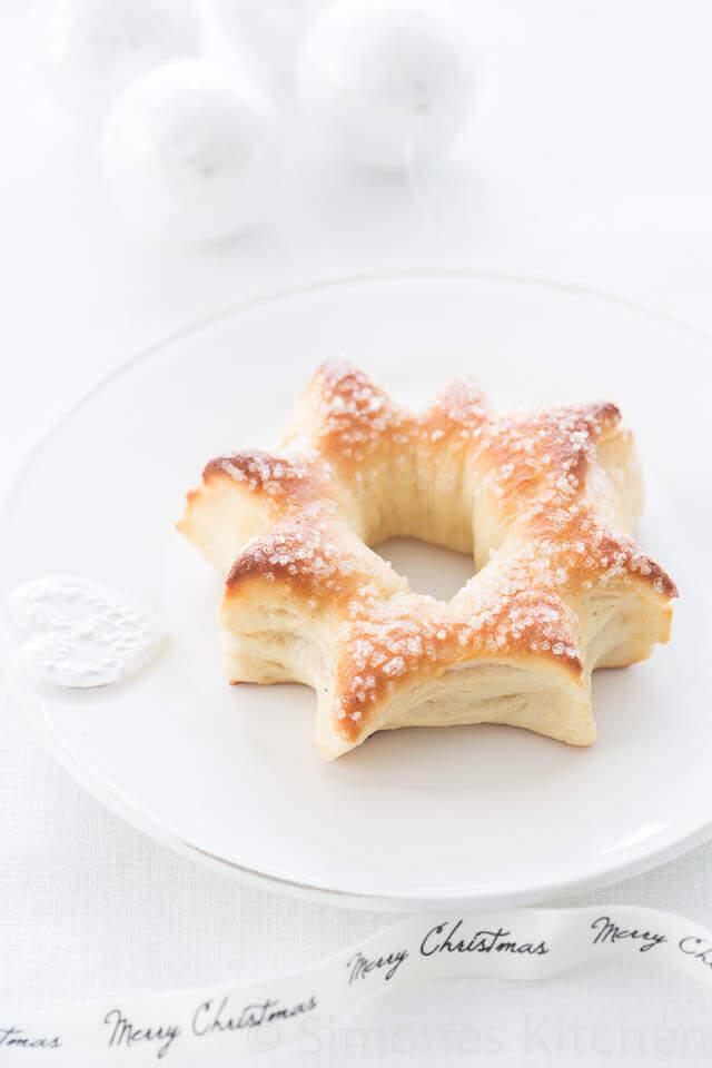 Sterbroodjes met honing en anijs | simoneskitchen.nl