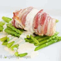 Zeeduivel met pancetta