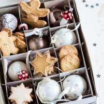 Kerstkoekjes in kerstballendoos | simoneskitchen.nl