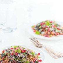 Salade van farro en spruitjes | simoneskitchen.nl