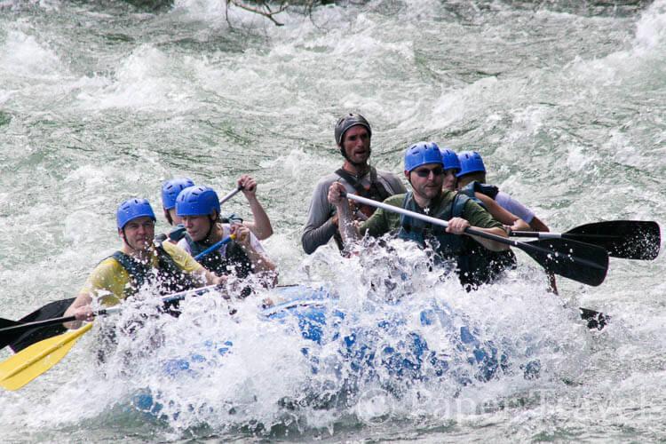 White water rafting op de sarapique rivier, costa rica   simoneskitchen.nl
