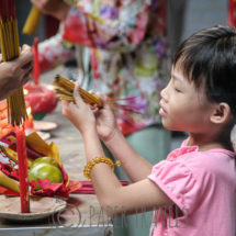 Tempel in Chinatown Ho Chi Minh City | simoneskitchen.nl