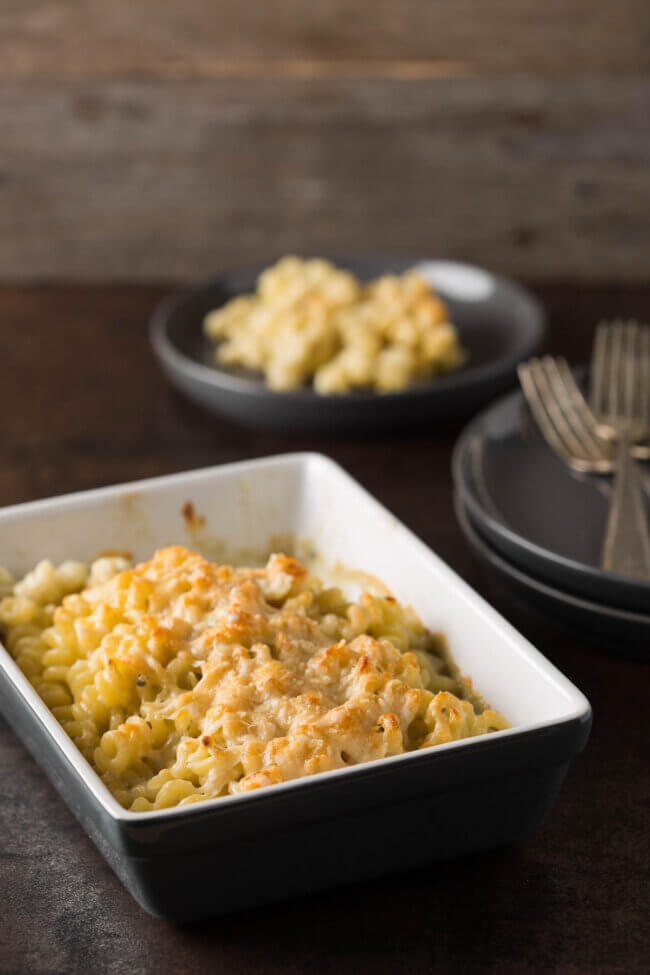 Mac & cheese gorgonzola